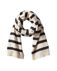 Hat Attack - Natural Stripe Scarf - Lyst