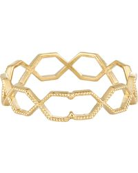 Grace Lee | Metallic Hexagon Eternity Band | Lyst