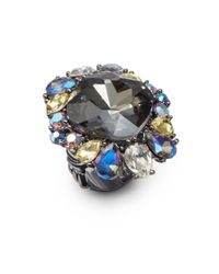 Saks Fifth Avenue - Multicolor Cluster Ring - Lyst