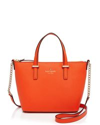 kate spade new york - Orange Cedar Street Harmony Crossbody - Lyst
