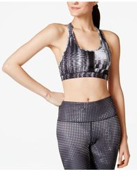 Adidas | Black Techfit™ Compression Racerback Bra | Lyst