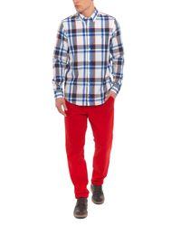 Tommy Hilfiger - Red Straight Leg Casual Chino for Men - Lyst