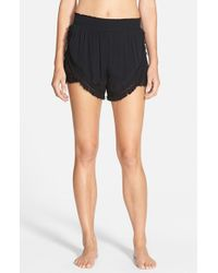 Volcom - Black 'haute Love' Shorts - Lyst