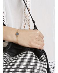 Marc By Marc Jacobs | Metallic Grey Enamel Disc Bracelet | Lyst
