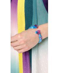 Aurelie Bidermann | Metallic Copacabana Bracelet | Lyst
