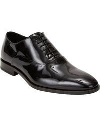 Barneys New York | Black Plain-toe Balmorals for Men | Lyst