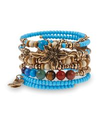 ALEX AND ANI | Multicolor Vintage 66 Natural Wonders Bangles Set Of 5 Physical | Lyst