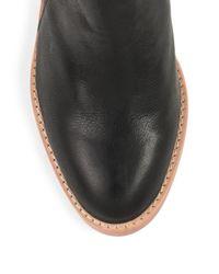 Loeffler Randall - Black Ella Leather Ankle Boots - Lyst