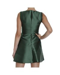 RED Valentino - Green Valentino Women's Dress - Lyst