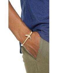 Miansai - Metallic Anchored Cuff for Men - Lyst