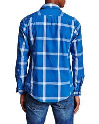 Thomas Pink | Blue Ryland Check Shirt for Men | Lyst