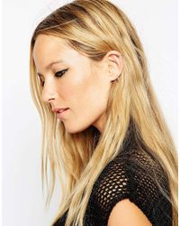 ASOS | Multicolor Limited Edition Sleek Spike Anywhere Ear Cuff Pack | Lyst
