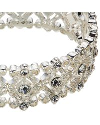 John Lewis - Metallic Filigree Stretch Bracelet - Lyst