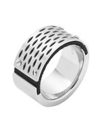 DIESEL | Metallic Ring Dx0846 for Men | Lyst