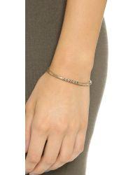 Pascale Monvoisin - Metallic Colette Bracelet - Turquoise/gold - Lyst
