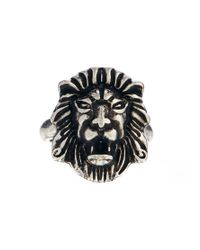 Afends | Metallic Lion Ring for Men | Lyst