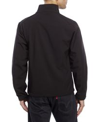 Izod - Black Soft Shell Jacket for Men - Lyst