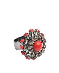 Anton Heunis | Orange Katrina Floral Ring | Lyst