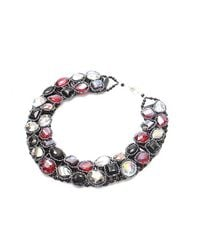 Nakamol - Multicolor Stepping Stone Necklace - Lyst