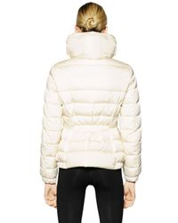 Moncler - White Sanglier Nylon Down Jacket - Lyst