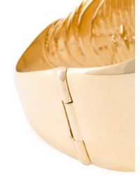 Aurelie Bidermann | Metallic Talitha 18kt Gold Plated Bracelet | Lyst