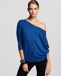 Velvet By Graham & Spencer | Blue Top - Joss Dolman | Lyst