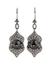 Cathy Waterman | Metallic Narnia Drop Earrings | Lyst