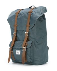 Herschel Supply Co. - Blue 'little America' Backpack for Men - Lyst