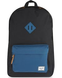Herschel Supply Co. | Blue Heritage Quilted Backpack for Men | Lyst