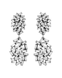 DANNIJO - Metallic Mayfield Earrings - Lyst