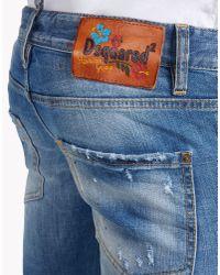 DSquared² - Blue Boot Cut Jeans for Men - Lyst