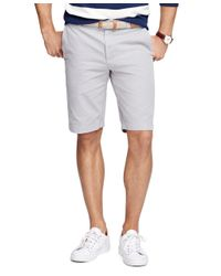 "Brooks Brothers | Gray Garment-dyed 11"" Bermuda Shorts for Men 