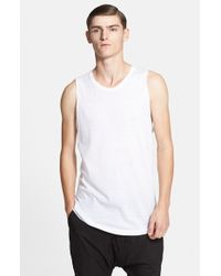 Chapter | White 'ro' Cotton Blend Tank for Men | Lyst