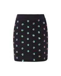 Opening Ceremony | Black Sparrow Embellished Mini Skirt | Lyst