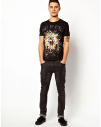 Elvis Jesus - Black Tshirt King for Men - Lyst