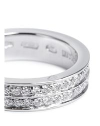 Repossi - Metallic 'berbère' Diamond White Gold Ring - Lyst