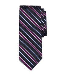 Brooks Brothers | Blue Heathered Stripe Tie for Men | Lyst