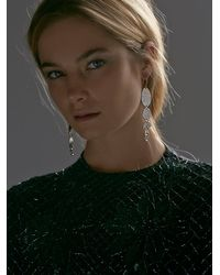 Free People | Metallic Howl Moon Phase Earrings | Lyst