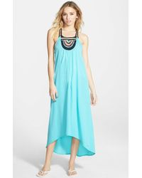 Rip Curl | Blue 'adore' Maxi Dress | Lyst