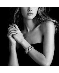 David Yurman - Metallic Mosaic Cuff with Diamonds - Lyst