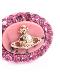 Vivienne Westwood - Pink 'Giselle' Earrings - Lyst