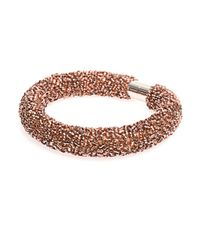 Balenciaga | Pink Raindrop Bead-Embellished Choker | Lyst