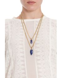 Isabel Marant - Metallic Saul Arrow Long Drop Necklace - Lyst