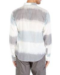 Nicholas K - Gray White Dexter Shirt for Men - Lyst