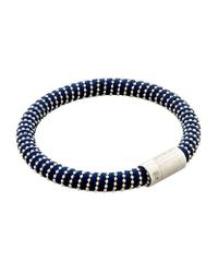 Carolina Bucci | Black Twister Bracelet Silver | Lyst
