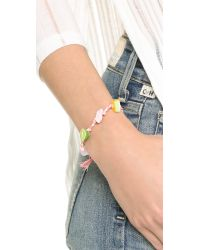 Venessa Arizaga - Pink Lolli X Va The Keys Bracelet - Lyst