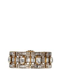 Erickson Beamon | Metallic 'temptress' Square Crystal Bracelet | Lyst
