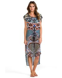 Clover Canyon - Cuban Tile Coverup in Black - Lyst