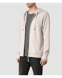 AllSaints | Natural Orian Hoody for Men | Lyst