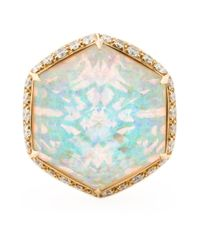 Stephen Webster | Metallic Opal Cocktail Ring | Lyst